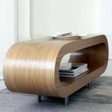 loopy contemporary oak coffee table modern uk designer tables