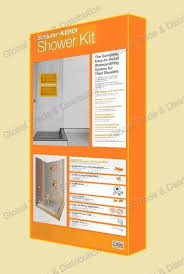 schluter systems kerdi shower kit all sizes types models are available