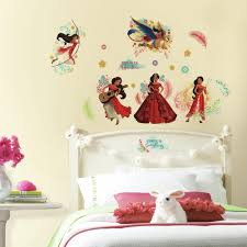 Princess Tiana Bedroom Decor Girls Wall Decals Girls Wall Stickers Roommates