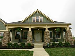 image of modern craftsman style bungalow house plans ideas
