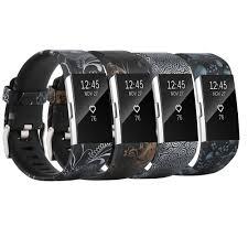 Baaletc <b>черный</b> мягкий силиконовый ремешок для Fitbit Charge 2 ...