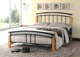 Wood and iron bedroom furniture Modern Antique Style Wooden And Metal Beds Wood And Iron Headboard Large Size Of Tetras Contemporary Wooden Black Metal Wooden And Metal Cafe Silvestre Wooden And Metal Beds Black Metal Bedroom Furniture Metal Bed Frame