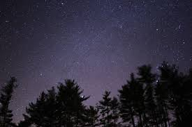 uncontrollable coughing at nigh- night sky
