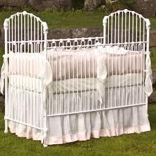 lulla smith sonoma irish linen crib bedding