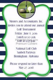 Golf Invitation Template Golf Poster Templates Postermywall