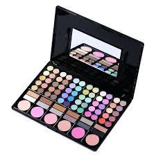 colors pro blush lip gloss bination plate makeup kit box with mirror women mac professional