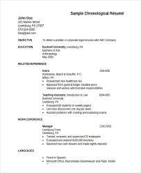 HR Fresher Resume Format Template