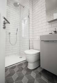 monochromatic bathroom interior small shower ideas