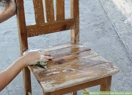 image titled paint an old wooden chair step 1