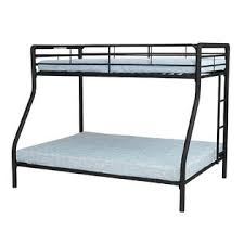 metal bunk bed twin over full. Essential Home Black Twin Over Full Metal Bunk Bed 3 T