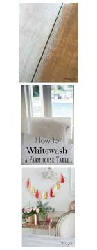 How To White Wash How To Whitewash A Farmhouse Table In 30 Minutes Shabbyfufu