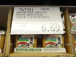 hikari miso organic white miso hikari miso organic white miso costco