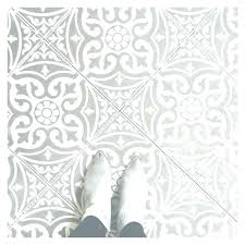 patterned bathroom floor tiles grey vintage style wall and white small
