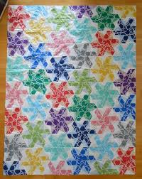 5 Playful Pinwheel Baby Quilt Patterns to Piece | Craftsy Blog & hexagon pinwheel quilt Adamdwight.com