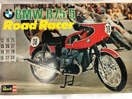 out of print rare 70s vine revell 1 8 bmw cafe racer r75 5