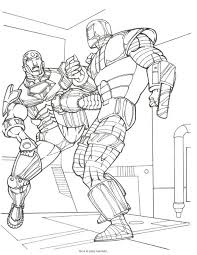 Printable Avengers Coloring Pages Coloring Pro