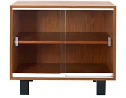 tv cabinets with glass doors tv stand with sliding door brown wooden mid century within cabinets