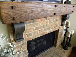 wrought iron corbels look incredible beneath fireplace mantels because they match other nearby metal elements
