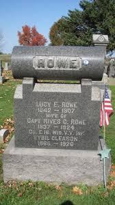Sybil Gleason Rowe (1866-1926) - Find A Grave Memorial