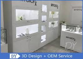 quality modern glossy pure white wood gl jewelry display cases whole