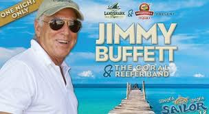 jimmy buffett announces first two shows