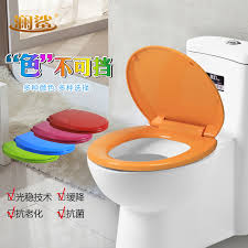 get ations lan shark colored toilet lid fashioned common potty toilet lid cover thick descent pp board o