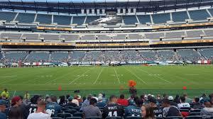 Lincoln Financial Field Section 120 Philadelphia Eagles