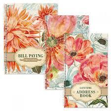 Floral Daydream Bill Paying Organizer Current Catalog