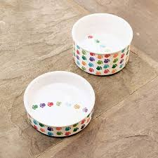 Decorative Dog Bowls Ceramic Food Bowls For Pets Noten Animals
