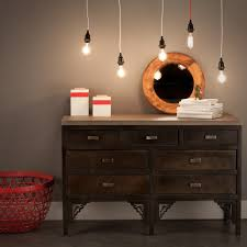 cord lighting. indochine industrial dresser and pendant light cords cord lighting