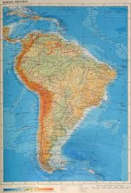 Южная Америка geography Карта Южной Америки