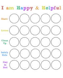 Happy And Helpful Chart Living On Love Art Behavior