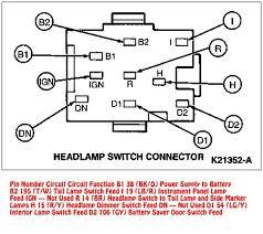 headlight switch wiring diagram Gm Headlight Switch Wiring Diagram 94 95 mustang headlight switch wire diagram mustang fuse gm light switch wiring diagram