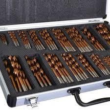 drill bit set. set; vaunt 30315 170 piece cobalt hss drill bit set_alt_image_1 set