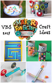 13 maker fun factory craft ideas vbs invention inspired craft ideas