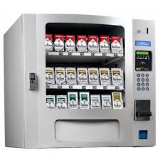 Credit Card Vending Machines Best Seaga SM48S CIG Countertop 48 Select Cigarette Vending Machine with