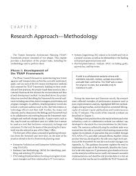 chapter research approach methodology transit enterprise  page 9