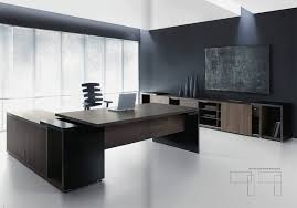 Modern Executive Office Furniture Desks Intended For Contemporary
