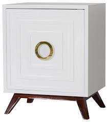 white lacquered furniture. Harrison Hollywood Regency White Lacquer Brass Nightstand White Lacquered Furniture