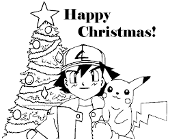christmas coloring pages | POKEMON CHRISTMAS COLORING PICTURES ...