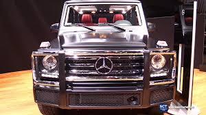 2016 mercedes g wagon interior. Beautiful Interior 2016 MercedesBenz GClass G550 V8  Exterior And Interior Walkaround  2015 LA Auto Show YouTube Throughout Mercedes G Wagon E