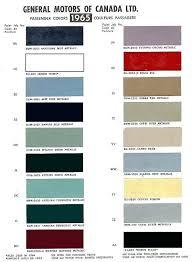 Yellow Car Paint Chart Napa Paint Color Chart