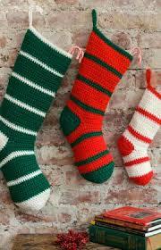 Crochet Christmas Stocking Pattern Beauteous New Christmas Stockings To Crochet 48 Free Patterns