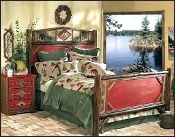 E Outdoor Themed Bedding Hunting Bedroom Estate  Rental Enjoy Sets