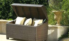 full size of wing outdoor wicker storage bench by christopher knight home seat box alfresco resin