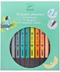 <b>DJECO двусторонних фломастеров</b>, <b>10</b> шт. (разноцветный ...