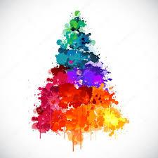 Znalezione obrazy dla zapytania bunter Weihnachtsbaum