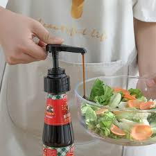 Buy 1 Piece Dispensing Pump For Oyster Sauce Bottle Creative ...