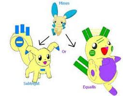 Pokemon Plusle Evolution Chart Plusle And Minun Love Story Anime On Pinterest Pokemon