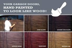 faux painted garage doors faux painting aluminum garage doors